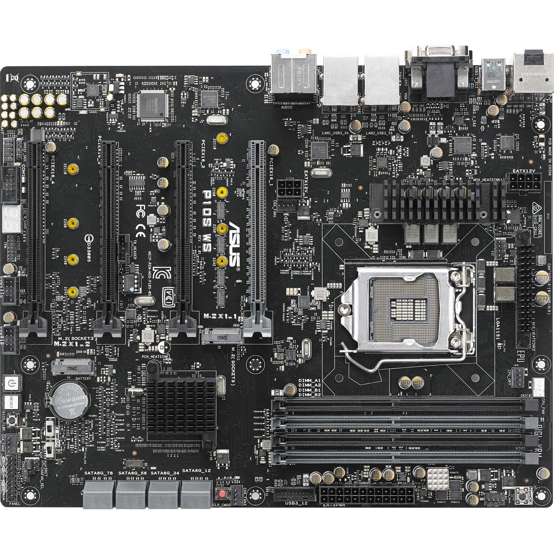 Asus P10S WS Workstation Motherboard - Intel Chipset - Socket H4 LGA-1151