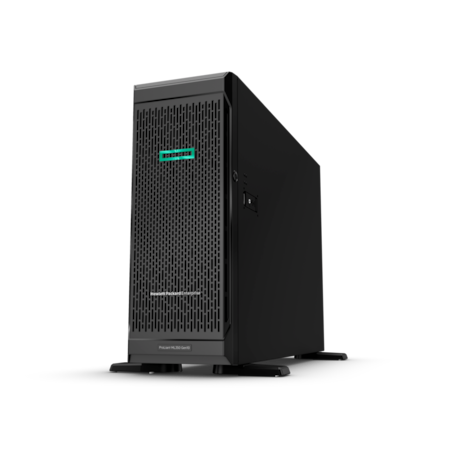 HPE ProLiant ML350 G10 4U Tower Server - 1 x Xeon Gold 5218 - 32 GB RAM HDD SSD - 12Gb/s SAS Controller