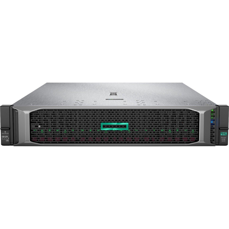HPE ProLiant DL385 G10 2U Rack Server - 1 x EPYC 7262 - 16 GB RAM HDD SSD - 12Gb/s SAS Controller