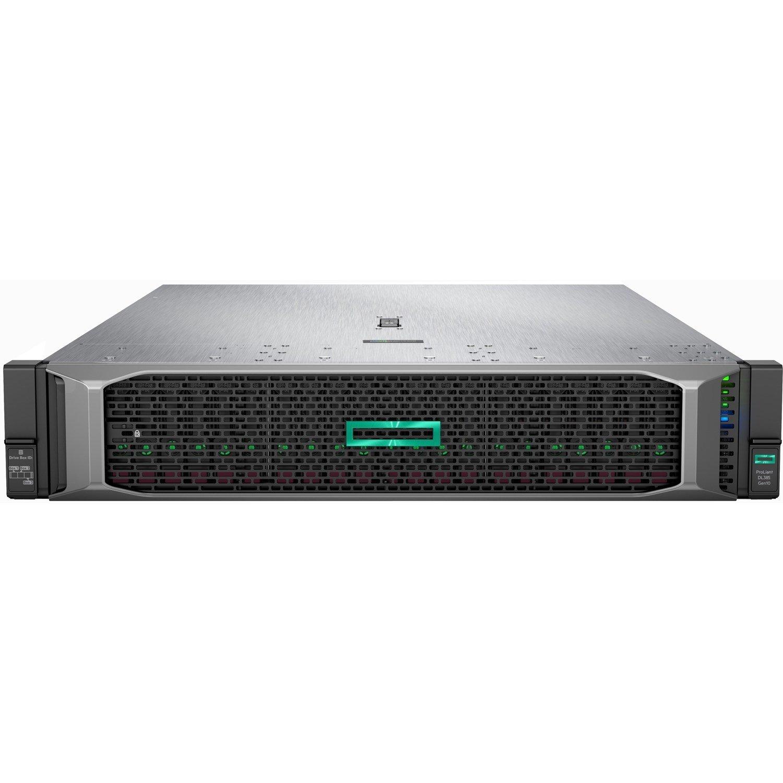 HPE ProLiant DL385 G10 2U Rack Server - 1 x EPYC 7452 - 16 GB RAM HDD SSD - 12Gb/s SAS Controller
