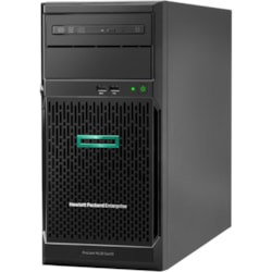 HPE ProLiant ML30 G10 4U Tower Server - 1 x Xeon E-2224 - 8 GB RAM HDD SSD - Serial ATA/600 Controller