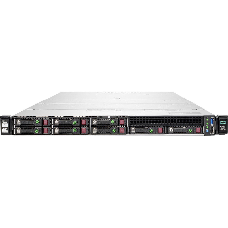 HPE ProLiant DL325 G10 Plus 1U Rack Server - 1 x EPYC 7302P - 32 GB RAM HDD SSD - 12Gb/s SAS Controller