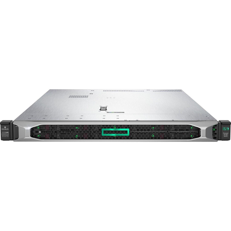 HPE ProLiant DL360 G10 1U Rack Server - 1 x Xeon Gold 5217 - 32 GB RAM HDD SSD - Serial ATA/600, 12Gb/s SAS Controller