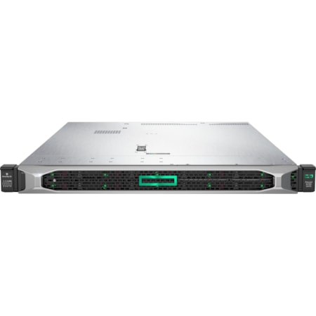 HPE ProLiant DL360 G10 1U Rack Server - 1 x Xeon Gold 5222 - 32 GB RAM HDD SSD - Serial ATA/600, 12Gb/s SAS Controller