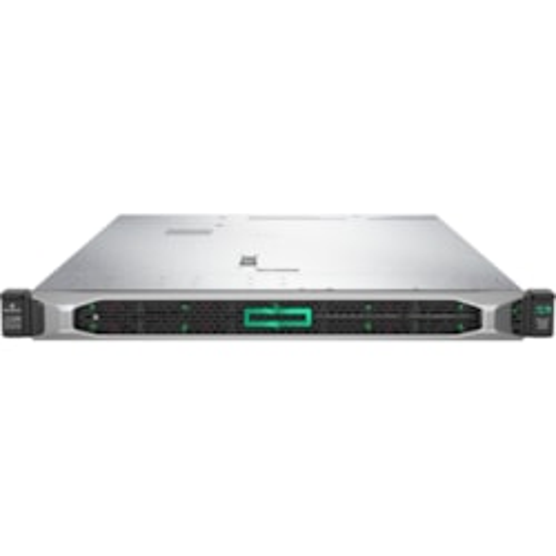 HPE ProLiant DL360 G10 1U Rack Server - 1 x Xeon Gold 6242 - 32 GB RAM HDD SSD - Serial ATA/600, 12Gb/s SAS Controller