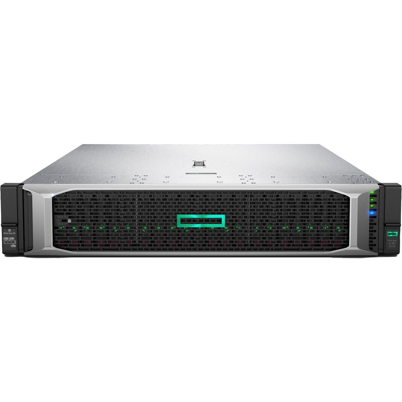 HPE ProLiant DL380 G10 2U Rack Server - 1 x Xeon Silver 4210 - 32 GB RAM HDD SSD - Serial ATA/600, 12Gb/s SAS Controller