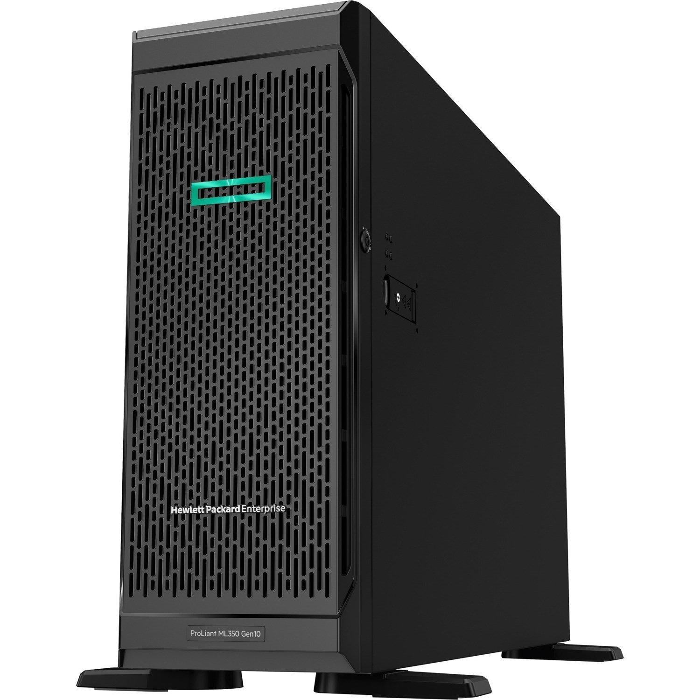 HPE ProLiant ML350 G10 4U Tower Server - 1 x Xeon Silver 4214R - 32 GB RAM HDD SSD - Serial ATA/600 Controller