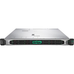 HPE ProLiant DL360 G10 1U Rack Server - 1 x Xeon Silver 4210R - 16 GB RAM HDD SSD - Serial ATA/600, 12Gb/s SAS Controller