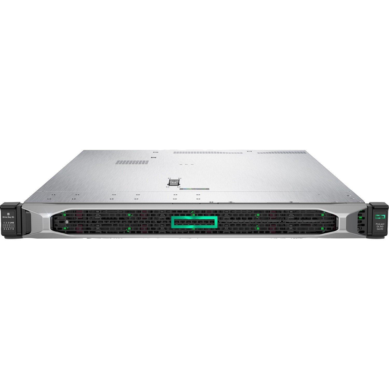 HPE ProLiant DL360 G10 1U Rack Server - 1 x Xeon Gold 5220R - 32 GB RAM HDD SSD - Serial ATA/600 Controller