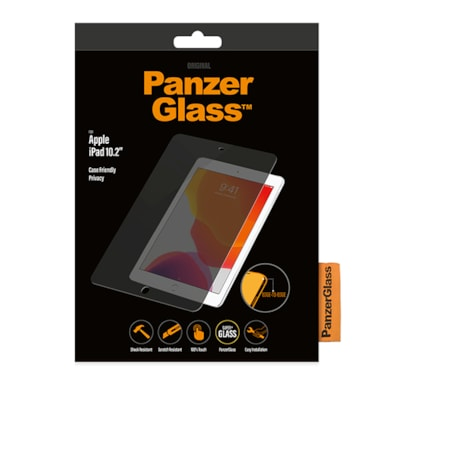 PanzerGlass Original Tempered Glass, Silicone Yes Privacy Screen Protector