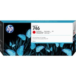 HP 746 Original Ink Cartridge - Chromatic Red