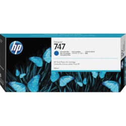 HP 747 Original Ink Cartridge - Chromatic Blue