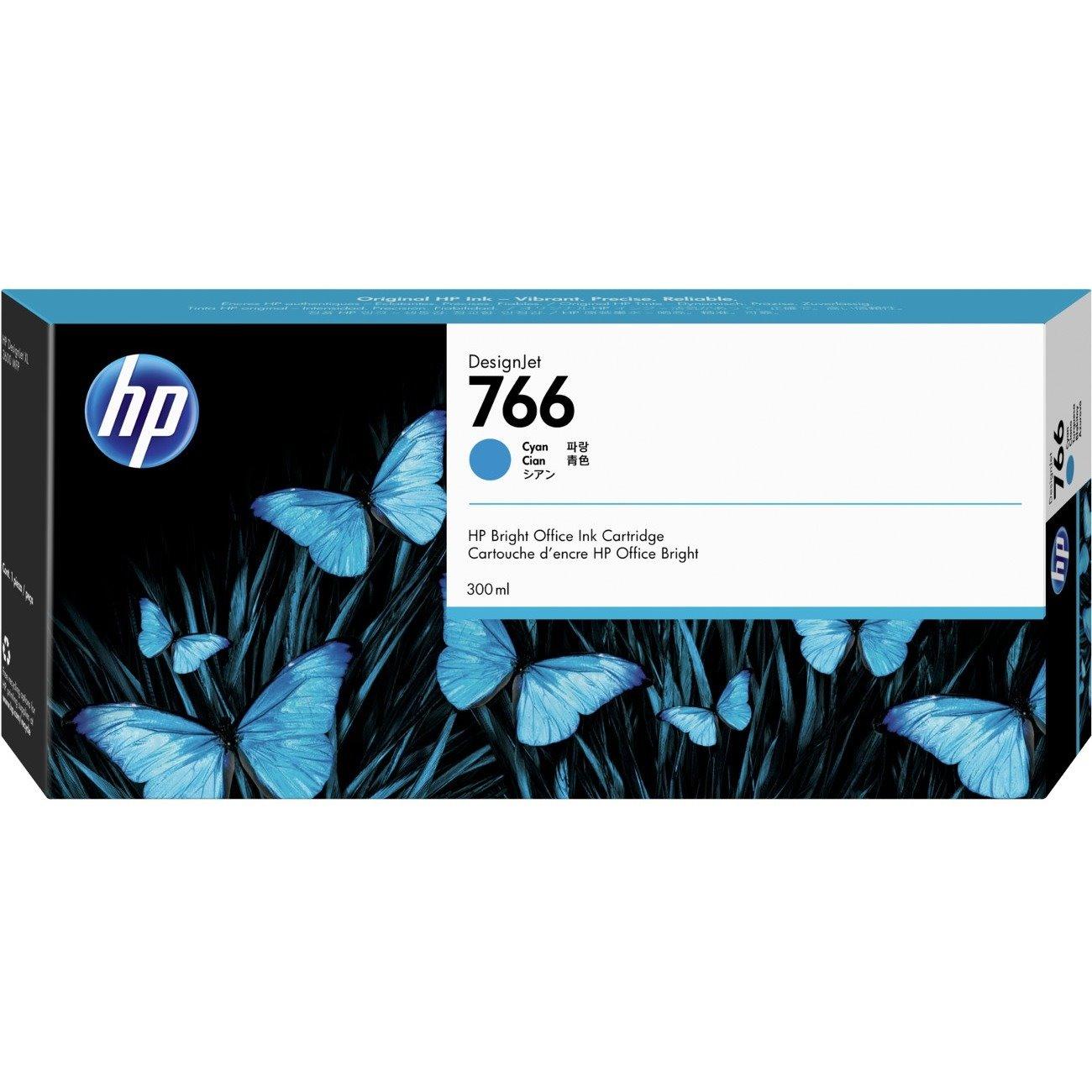 HP 766 Ink Cartridge - Cyan