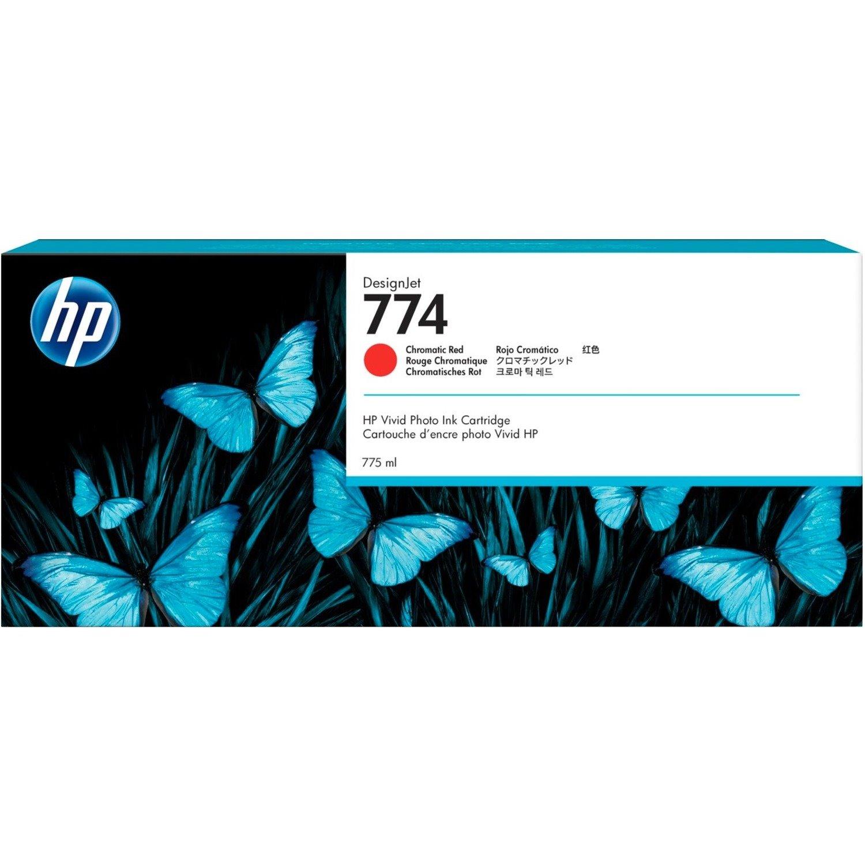 HP 774 Original Ink Cartridge - Chromatic Red
