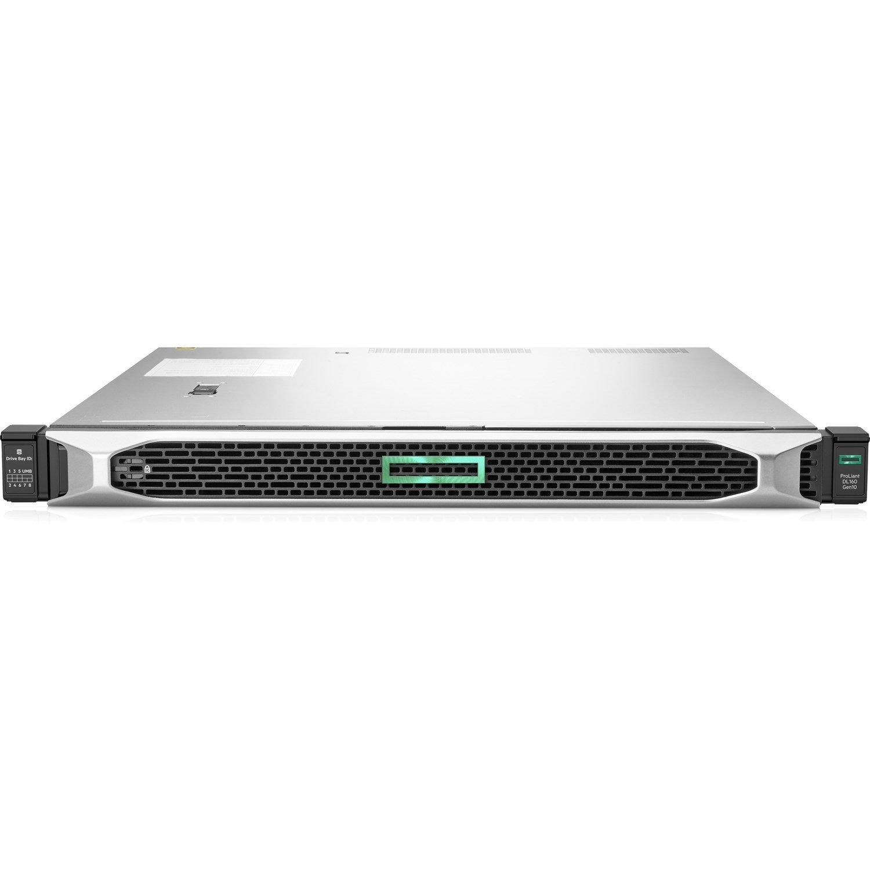 HPE ProLiant DL160 G10 1U Rack Server - 1 x Xeon Silver 4210R - 16 GB RAM HDD SSD - Serial ATA/600 Controller