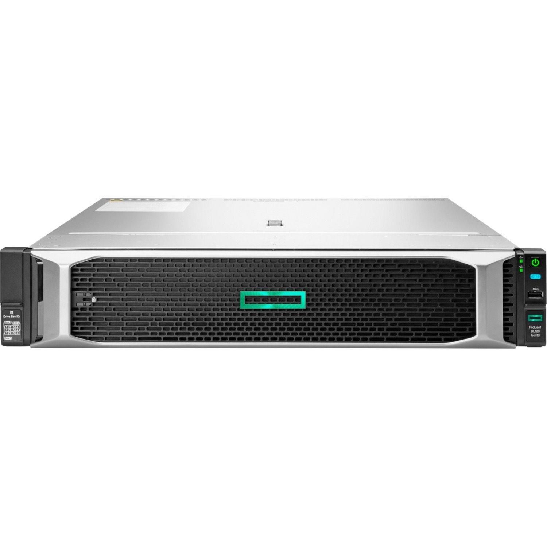 HPE ProLiant DL180 G10 2U Rack Server - 1 x Intel Xeon Silver 4210R 2.40 GHz - 16 GB RAM HDD SSD - Serial ATA/600 Controller