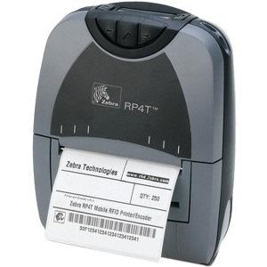 Zebra P4T Thermal Transfer Printer - Monochrome - Portable - Label Print