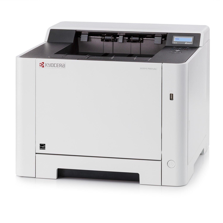 Kyocera Ecosys P5021cdw Laser Printer - Colour - 9600 x 600 dpi Print - Plain Paper Print - Desktop