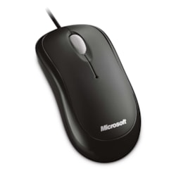 Microsoft Mouse - USB, PS/2 - Optical - Black