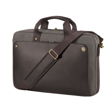 """HP Executive Carrying Case for 39.6 cm (15.6"""") Notebook, Tablet - Brown"""