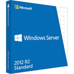 Microsoft Windows Server 2012 R.2 Standard 64-bit - Complete Product - 10 CAL - Standard