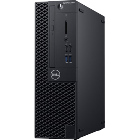 Dell OptiPlex 3000 3060 Desktop Computer - Intel Core i3 (8th Gen) i3-8100 - 4 GB DDR4 SDRAM - 1 TB HDD - Windows 10 Pro 64-bit (English) - Small Form Factor