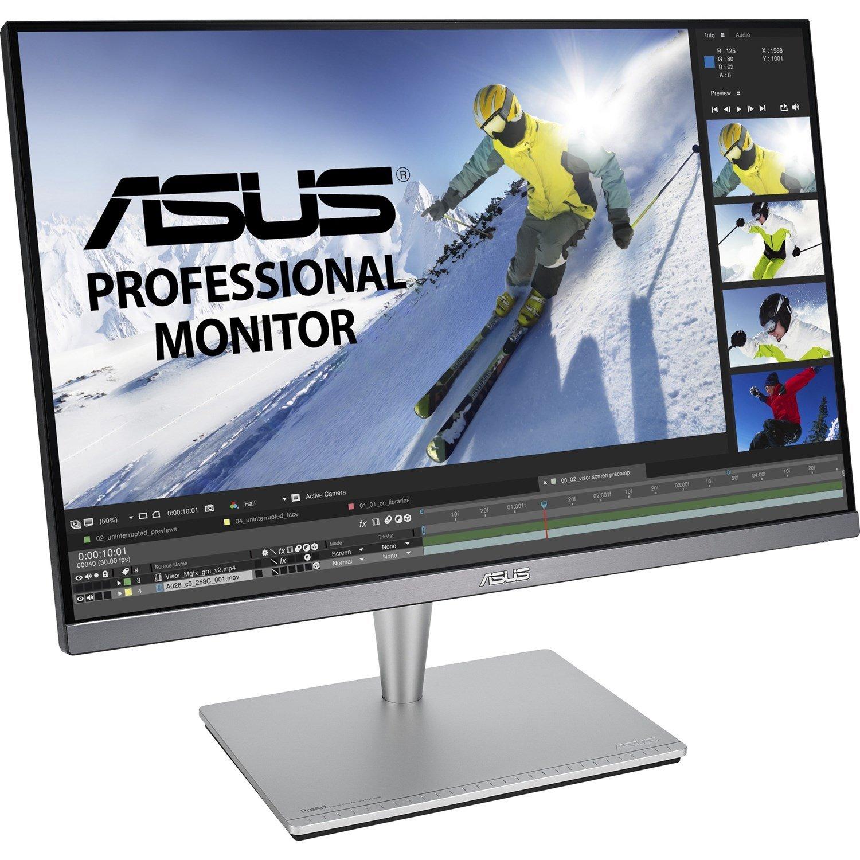 "Asus ProArt PA24AC 61.2 cm (24.1"") WUXGA LED LCD Monitor - 16:10 - Grey"