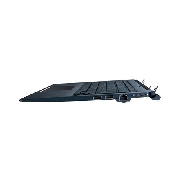 Toshiba Keyboard - Docking Connectivity - USB Type C Interface - ClickPad - Onyx Blue