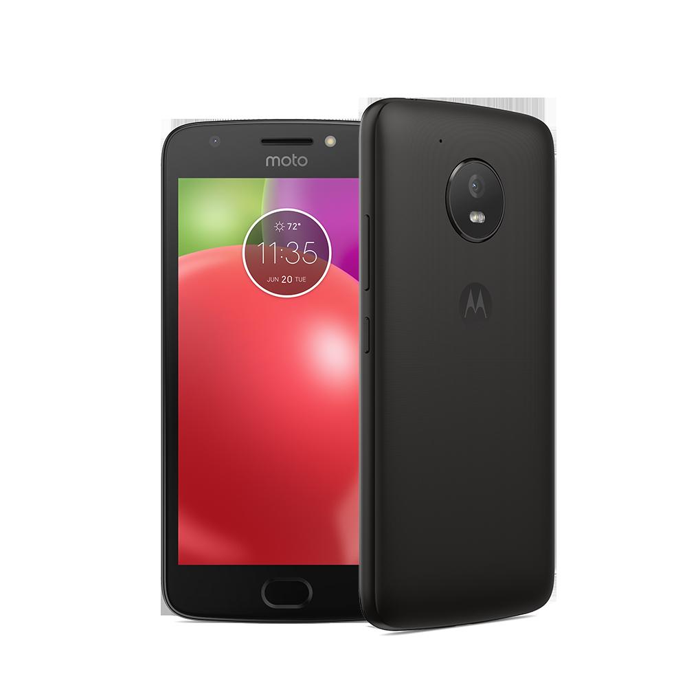 "Motorola Moto E⁴ XT1769 16 GB Smartphone - Iron Gray Metallic - 12.7 cm (5"") LCD HD Touchscreen - 2 GB RAM - 4G - Quad-core (4 Core) 1.30 GHz - 8 Megapixel Rear - Android 7.1 Nougat - SIM-free"