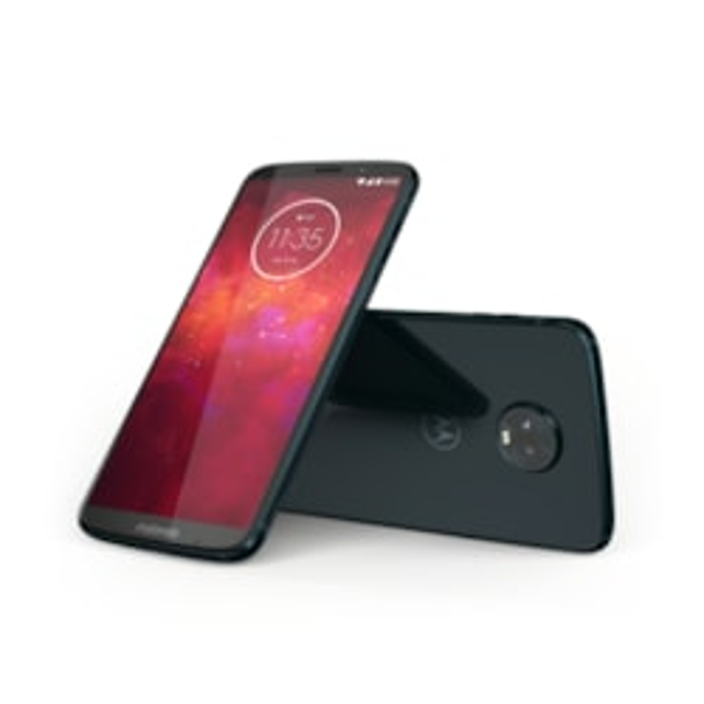 "Motorola Moto Z³ Play 64 GB Smartphone - 6"" Super AMOLED Full HD Plus 2160 x 1080 - 4 GB RAM - Android 8.1 Oreo - 4G - Deep Indigo"
