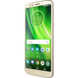 "Motorola Moto G⁶ Play 32 GB Smartphone - Fine Gold - 14.5 cm (5.7"") LCD HD+ Touchscreen - 3 GB RAM - 4G - 13 Megapixel Rear/8 Megapixel Front - Android 8.0 Oreo - SIM-free"