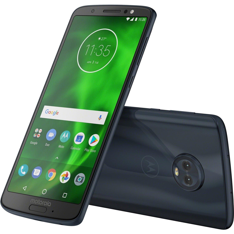 "Motorola Moto G⁶ Smartphone - 14.5 cm (5.7"") Full HD Plus - Android 8.0 Oreo - 4G - Deep Indigo"