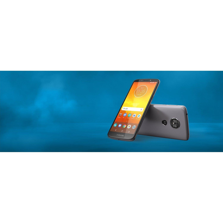 "Motorola Moto E⁵ 16 GB Smartphone - Flash Gray - 14.5 cm (5.7"") LCD HD+ Touchscreen - 2 GB RAM - 4G - 13 Megapixel Rear/5 Megapixel Front - Android 8.0 Oreo - SIM-free"