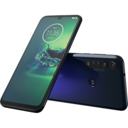 "Motorola moto g8 plus 64 GB Smartphone - 16 cm (6.3"") LTPS LCD Full HD Plus 2280 x 1080 - 4 GB RAM - Android 9.0 Pie - 4G - Cosmic Blue"