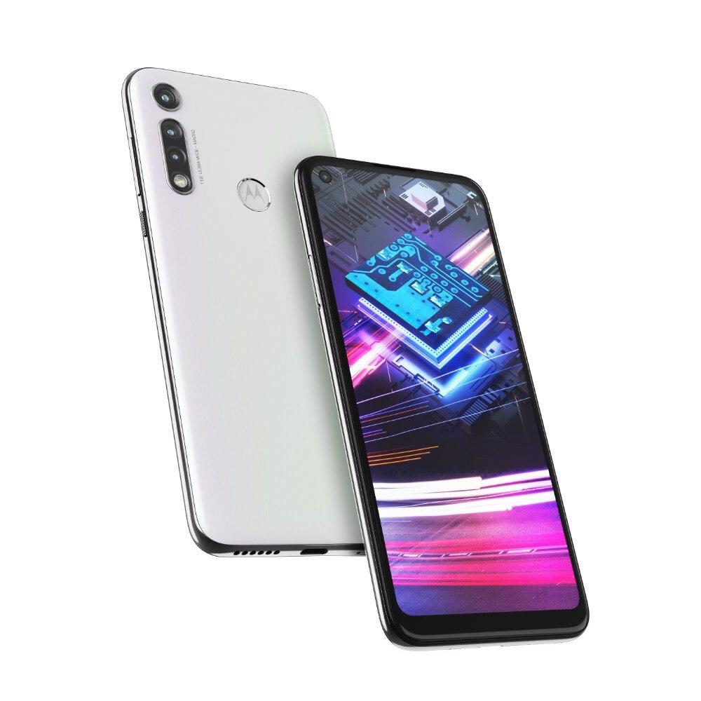 "Motorola moto g FAST 32 GB Smartphone - 6.4"" LCD HD+ 1560 x 720 - 3 GB RAM - Android 10 - 4G - Pearl White"