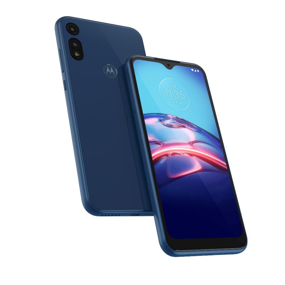 "Motorola moto e 32 GB Smartphone - 6.2"" LCD HD+ 1520 x 720 - 2 GB RAM - Android 10 - 4G - Midnight Blue"