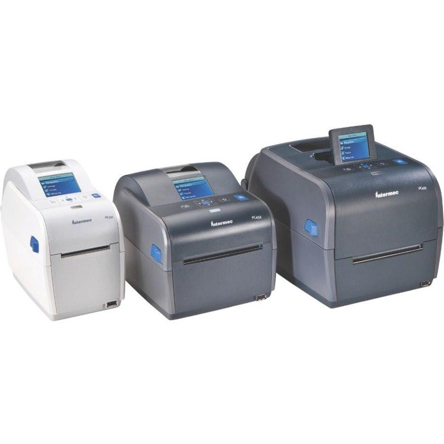 Intermec PC43T Thermal Transfer Printer - Monochrome - Desktop - Label Print