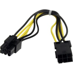 StarTech.com Power Extension Cord - 20.32 cm Length - PCI-E - PCI-E