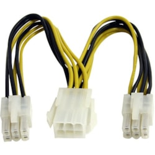 StarTech.com Splitter Cord - 15.24 cm Length - PCI-E - PCI-E