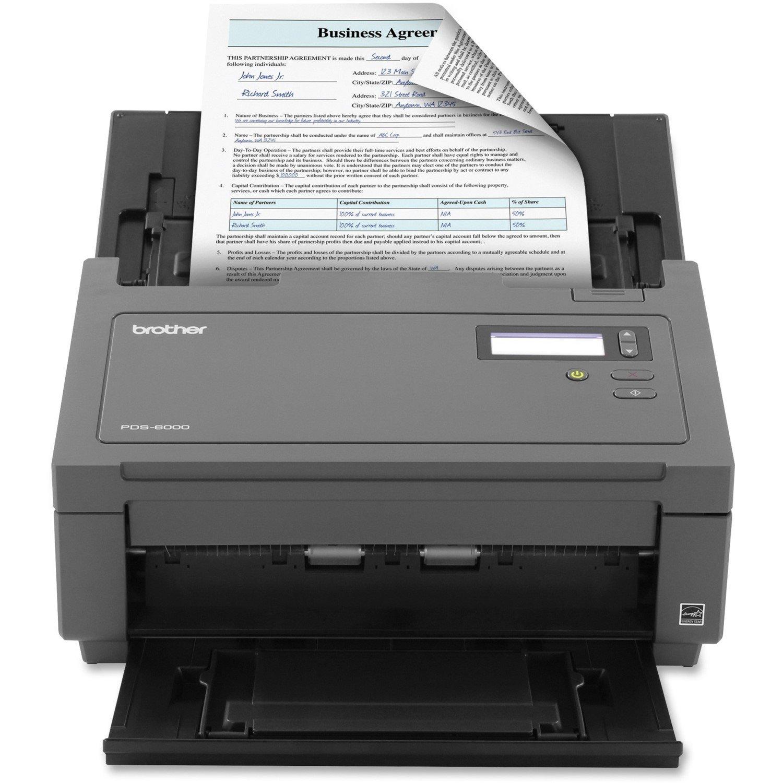 Brother PDS-6000 Sheetfed Scanner - 600 dpi Optical