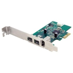 StarTech.com FireWire Adapter - PCI Express - Plug-in Card - TAA Compliant