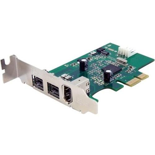 StarTech.com FireWire Adapter - PCI Express - Plug-in Card