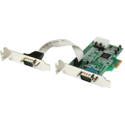 StarTech.com Serial Adapter - Dual-profile Plug-in Card - 1 Pack