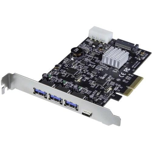 StarTech.com USB Adapter - PCI Express x4 - Plug-in Card