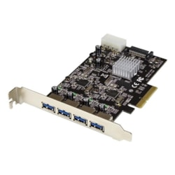 StarTech.com USB Adapter - PCI Express 3.0 x4 - Plug-in Card