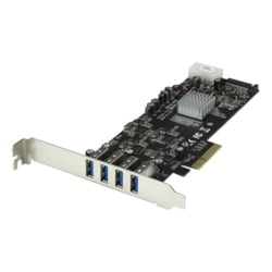 StarTech.com USB Adapter - PCI Express x4 - Plug-in Card