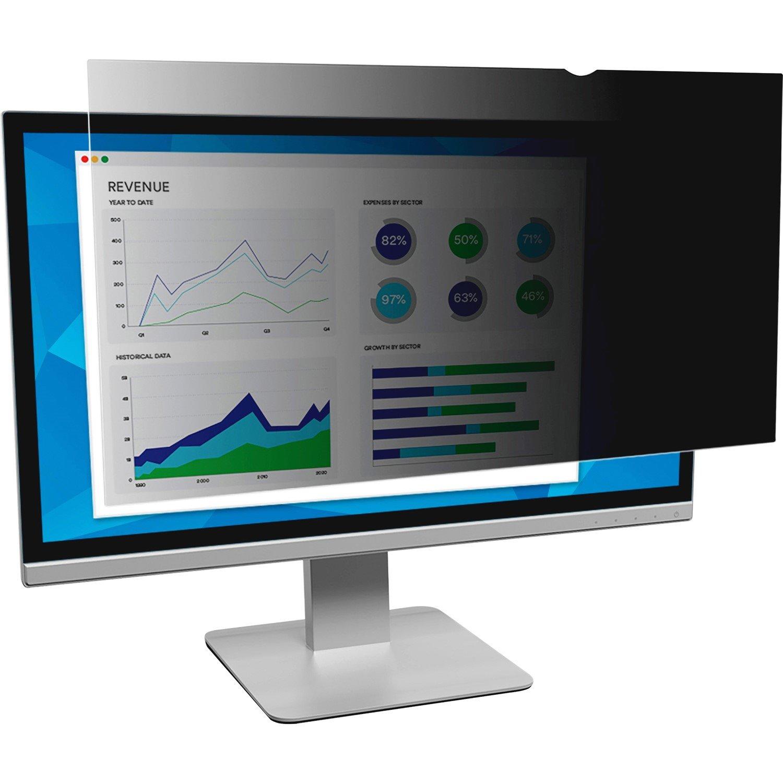 3M PF23.0W9 Polymer Black Privacy Screen Filter - 1 x Box