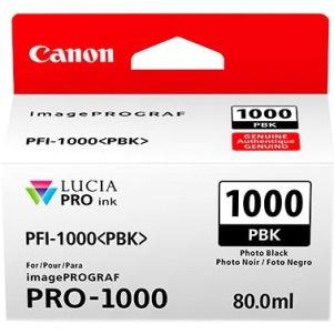 Canon LUCIA PRO PFI-1000 PBK Original Ink Cartridge - Photo Black