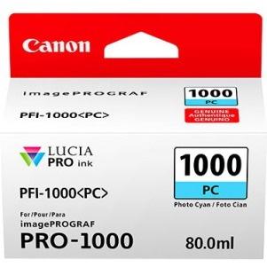 Canon LUCIA PRO PFI-1000 PC Original Ink Cartridge - Photo Cyan