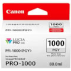 Canon LUCIA PRO PFI-1000 PGY Original Ink Cartridge - Photo Grey